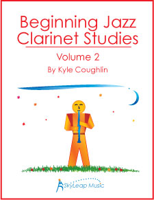 Buy Beginning Jazz Clarinet Studies, Volume 2