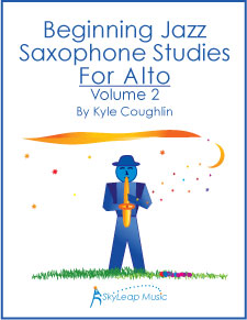 Buy Beginning Jazz Saxophone Studies for Alto, Volume 2