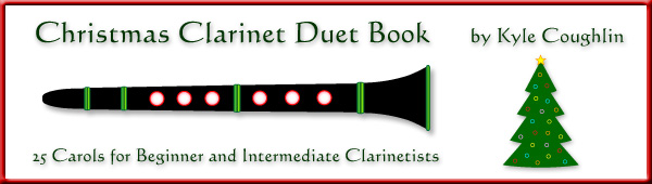 Get the Christmas Clarinet Duet Book